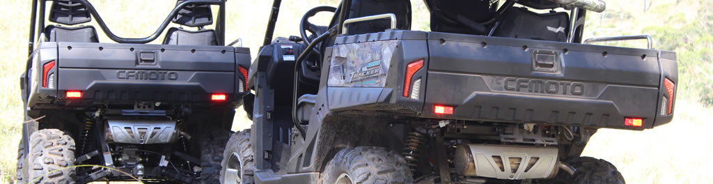 Mountain Creek Hunting with U8 CF Moto Side by Sides and X8 4X4 bikes. Click image to read more.